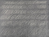 Cy Twombly - Untitled. New York City 1968