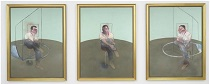 Francis Bacon - Three Studies for a Portrait of John Edwards 1984