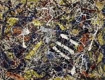 Jackson Pollock Number 17A 1949