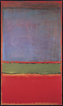 Mark Rothko - No. 6 'Violet, Green and Red' 1951