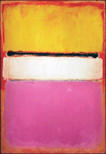 Mark Rothko - White Center; Yellow, Pink and Lavender on Rose 1950