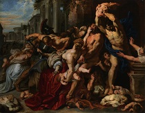 Peter Paul Rubens Massacre of the Innocents 1611