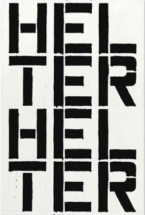 Christopher Wool - Untitled 1988
