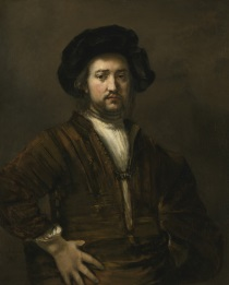 Rembrandt Harmensz. van Rijn - Portrait of a man with arms akimbo 1658